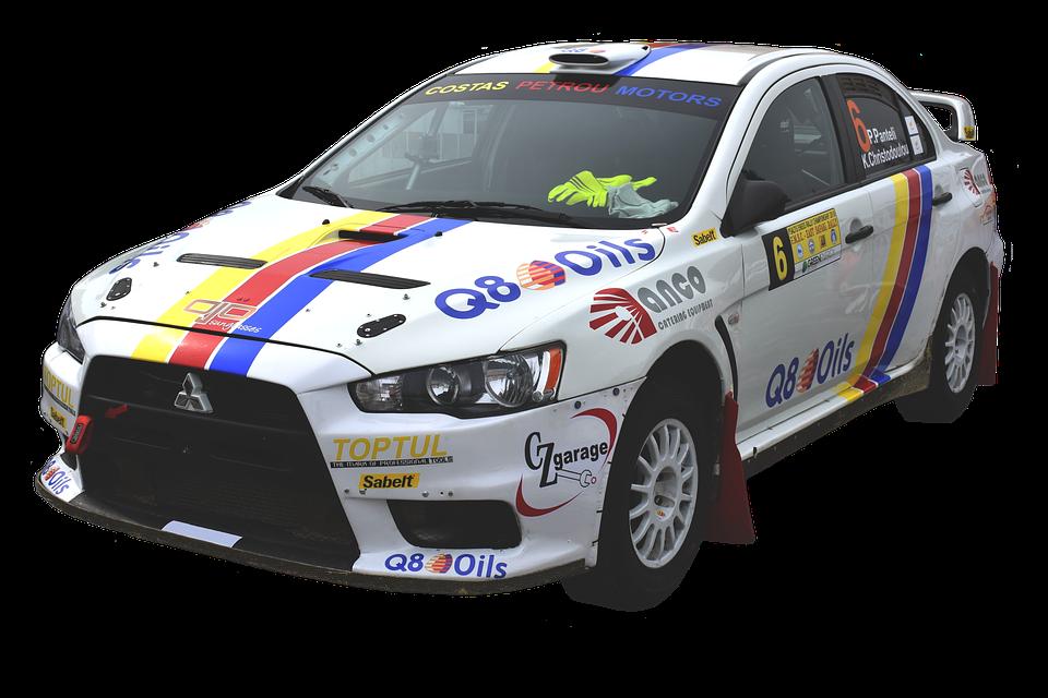 simulateur voiture rallye