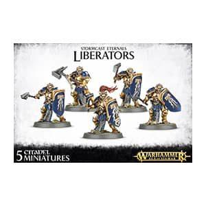 figurine warhammer ageofstigmar stormcast liberators
