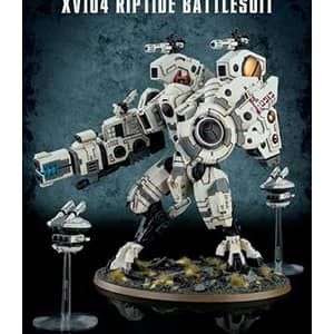 figurine warhammer tauempire xv104riptide battlesuit