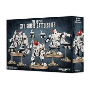 figurine warhammer tauempire xv8 grisis battlesuits